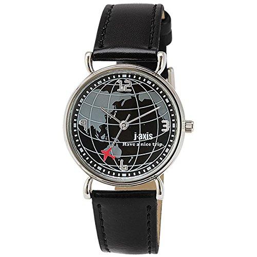 [ジェイ・アクシス]j-axis 腕時計 ファッション AL1224-BK レディース