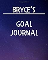 Bryce's Goal Journal: 2020 New Year Planner Goal Journal Gift for Bryce  / Notebook / Diary / Unique Greeting Card Alternative