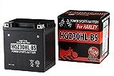 バイクパーツセンター シールド型 バイク用バッテリー AGM ハーレー用 (66010-97A 等 互換) [ 液入充電済 ] HGZ30HL-BS 1404