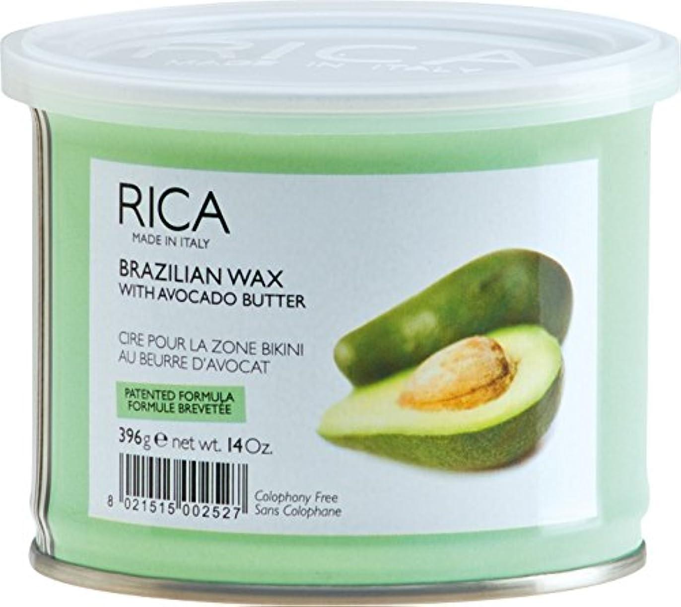 リクルート一杯広範囲にRICA WAX ブラジリアンワックスアボカドバター 400ml
