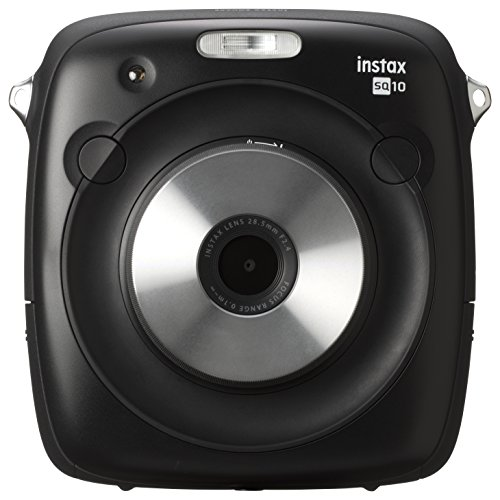 FUJIFILM ハイブリッドチェキSQ10 インスタントカメラ ブラック ...
