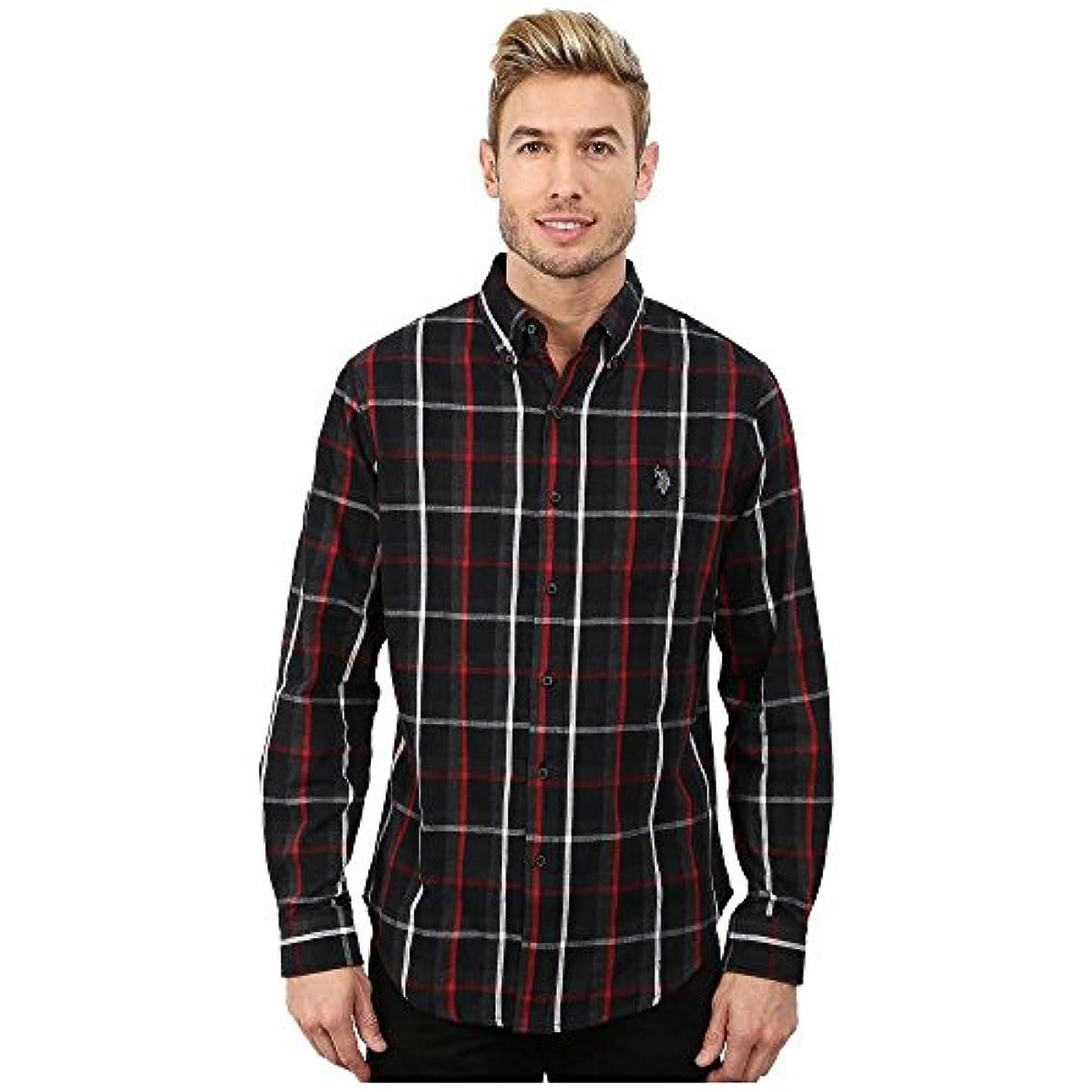 ネット手数料開梱(ユーエスポロアッスン) U.S. POLO ASSN. メンズ トップス シャツ Button Down Plaid Twill Shirt [並行輸入品]