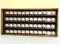 48野球キューブDisplay Case Cabinet Wall Rack w / 98% UV保護