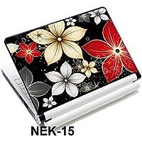 iColor 12/13.3/14/15/15.4/15.6インチのタブレット対応 抜群の耐久性! 防水、耐油性、高品質のタブレット/PCスキンシール ノートパソコンのステッカーの装飾 ノートパソコンのステッカーデコール アートステッカー (NEK-15)