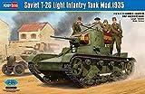 ホビーボス 1/35ファイティングヴィークルシリーズ ソビエト T-26 軽戦車 1935年型 プラモデル