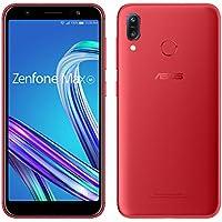 ZenFone Max M1   【日本正規代理店品】 5.5インチ / SIMフリースマートフォン / ルビーレッド (3GB/32GB/4,000mAh) ZB555KL-RD32S3/A
