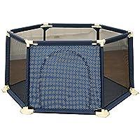 ベビープレイペン 赤ちゃんフェンス幼児フェンス屋内子供安全フェンスホーム(六角)