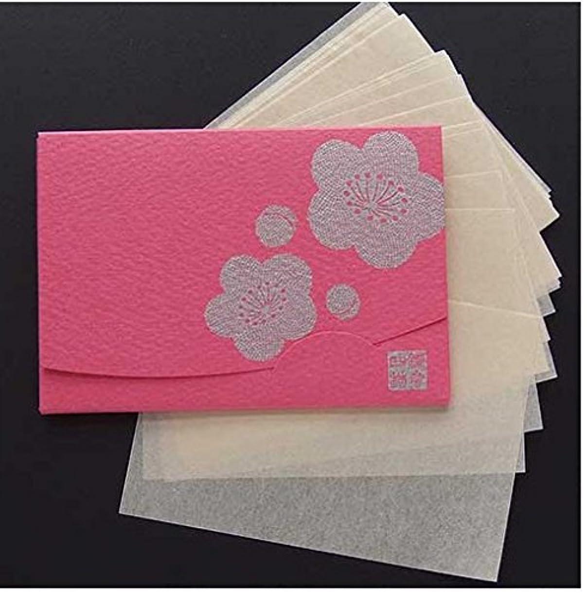 シンジケートマッサージ検閲季節の花  梅 「絹すき」 短冊サイズ
