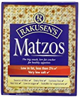 Rakusens Traditional Matzos 300 g (Pack of 10)