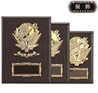 [レーザー彫刻名入れ] GOLD SHACHI 優勝楯 KV1623 Cサイズ(H-3) 【サッカー】