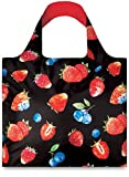 JUICY Strawberries Bag: Gewicht 55 g, Groesse 50 x 42 cm, Zip-Etui 11 11.5 handle 27 water resistant, made of polyester, OEKO-TEX certified, can carry up to 20 kg LOQI(ローキー) LOQI GmbH JU.ST