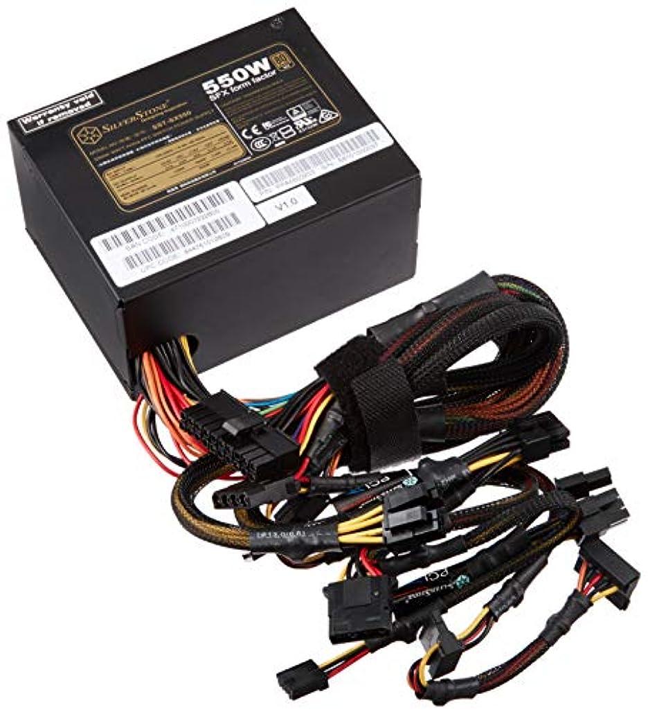 寺院蛇行石炭SilverStone SFXシリーズ 80PLUS Gold認証 電源 550W SST-SX550