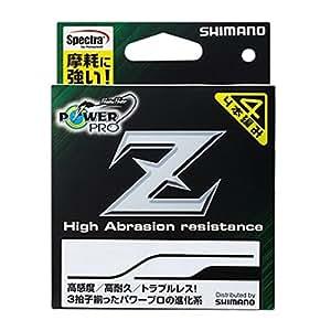 シマノ(SHIMANO) PEライン パワープロ Z 200m 0.6号 イエロー PP-M62N