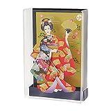 サンリオ クリスマスカード 和風 立体 メロディ ケース入り日本人形 S7045