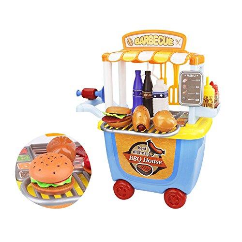 子供用 おもちゃ 知育玩具 キッズ用調理器具 食器セット バ...