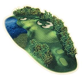 マウスパッド リアリティ ゴルフコースパッド 18番ホール 13×22×0.3cm