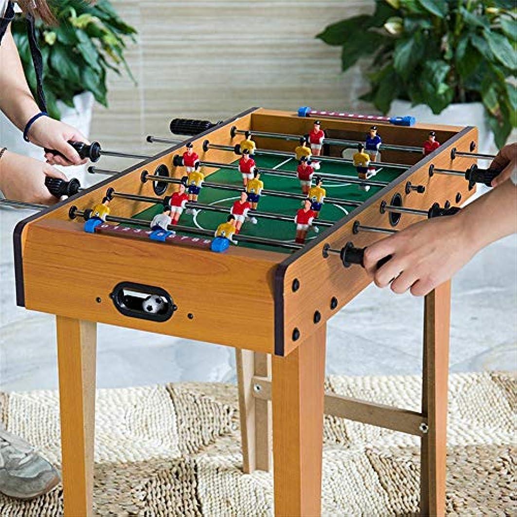 受けるメニュー複雑テーブルサッカーゲーム 大人と子供のためのポータブルハンドサッカーフーズボール表大会ゲームスポーツゲームコンパクト卓上サッカーゲーム (色 : As picture, Size : 69x37x65cm)