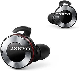 ONKYO W800BT Bluetoothイヤホン 密閉型/フルワイヤレス ブラック W800BTB 【国内正規品】