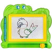 super1798ベビー子供漫画パターン消去可能磁気Writing図面ボードおもちゃ – ランダムカラー 5.71