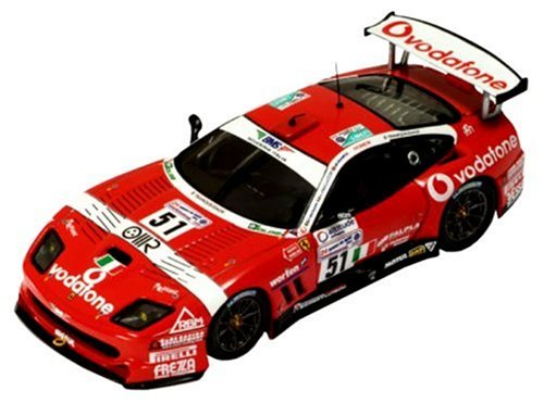 IXO FERRARI DIX 1/43 フェラーリ 550マラネロ (No.51) ルマン 2005
