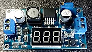 ドクターラボ 2.5A(最大3A)昇圧型DCコンバータ デジタル電圧計付