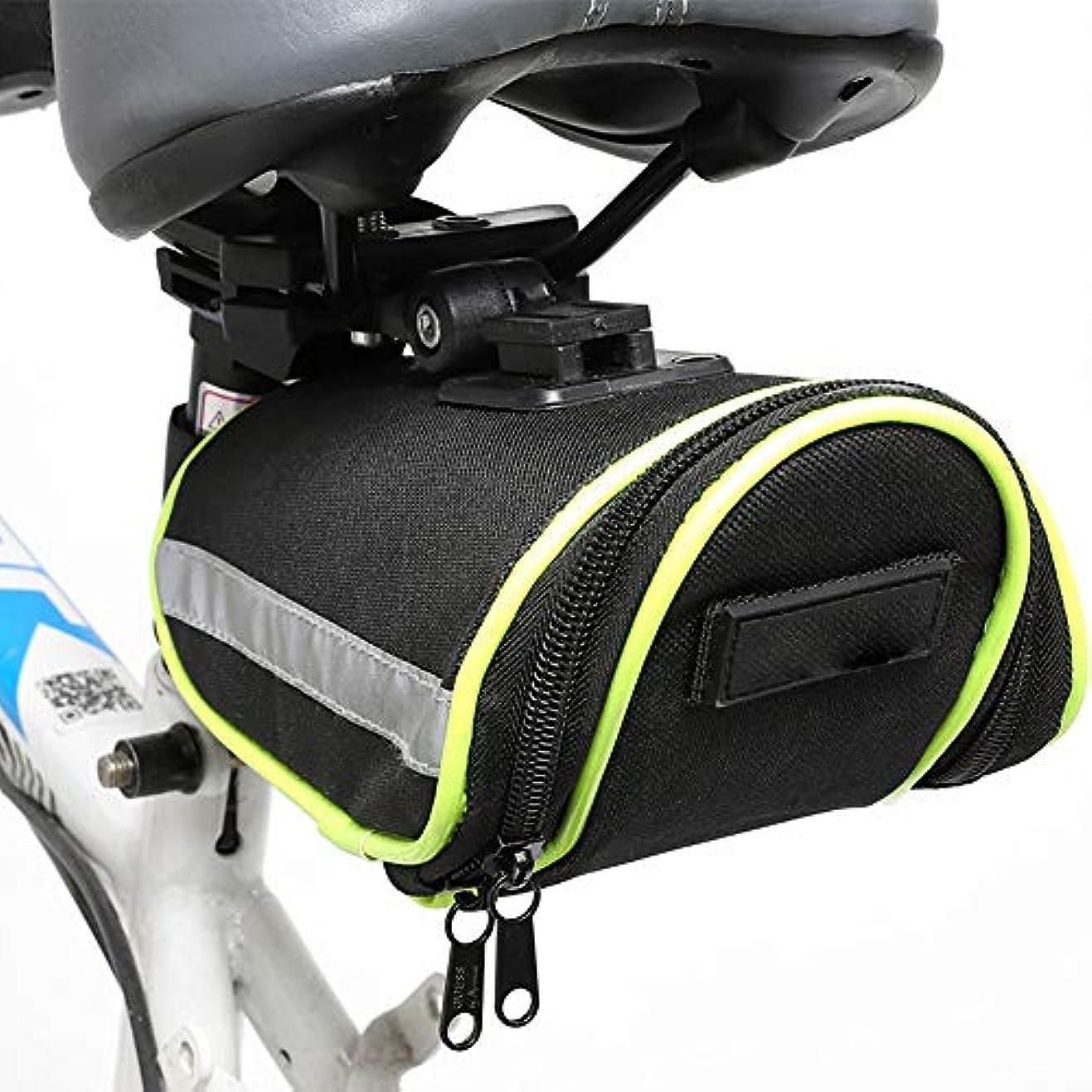 常に伝染性彫刻家自転車サドルバッグサイクリングバッグ防水大容量ジョイントタイプ
