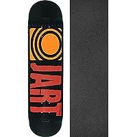 Jart Skateboardsクラシックレッドスケートボードデッキ – 7.75 X 31.7 CMでJessup Griptape – 2アイテムのバンドル
