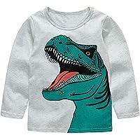 Warmbaby Little Boys Kids Long Sleeve T-Shirts