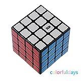 Colorfuldays MoYu Rubik's Cube 魔域文化 ルービックキューブ スピードキューブ 立体パズル 競技用キューブ 黒素体 (MoYu 4×4×4)