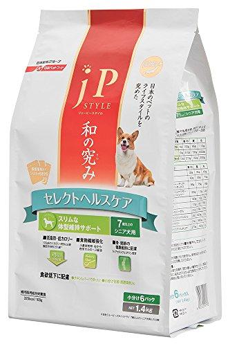 ジェーピースタイル 和の究み セレクトヘルスケア スリムな体型維持サポート 7歳以上のシニア犬用 1.4kg