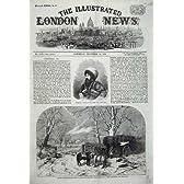 ホモのクリスマスの Chessington の雪を運んでいる 1859 の Schamyl