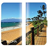 【 ankh 】 手帳型ケース 全機種対応 【 Optimus LTE L-01D オプティマス LTE L-01D専用 】 ハワイアン 手帳型 ハワイ アロハ hawaii サーフ ボード 海 亀 パームツリー ブック型 二つ折り レザー 手帳カバー スマホケース スマートフォン