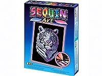Sequin Art Snow Tiger