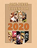 One Piece Calendar 2020: Full Calendar Planner 2020 with Images&Quotes, 8.5' x 11', Anime Calendar 2020, One Piece