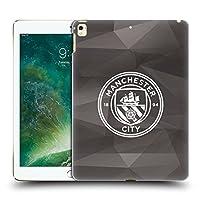 オフィシャルManchester City Man City FC ブラック&ホワイト モノクロ ジオメトリック・バッジ iPad Pro 12.9 (2017) 専用ハードバックケース