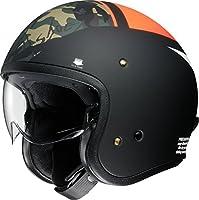 ショウエイ(SHOEI) バイクヘルメット ジェット J・O SEAFIRE (シーファイアー) TC-8 ORANGE/BLACK L (59cm) -