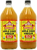 Amazon.co.jpBragg, オーガニック アップル サイダー(Apple Cider Vinegar) 946 ml (2個セット) [並行輸入品]