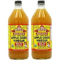 Bragg, オーガニック アップル サイダー(Apple Cider Vinegar) 946 ml (2個セット) [並行輸入品]