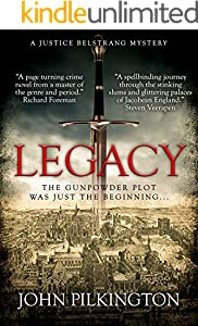 Legacy: A Justice Belstrang Mystery (English Edition)