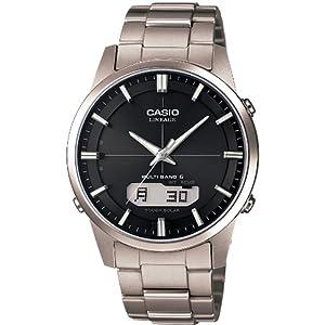 [カシオ]CASIO 腕時計 LINEAGE 世界6局電波対応ソーラーウォッチ LCW-M170TD-1AJF メンズ