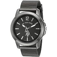 U.S. Polo Assn. Classic Men's Quartz Metal and Alloy Watch, Color:Black (Model: USC80384)