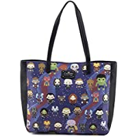 Loungefly x Marvel Avengers Chibi AOP Print Tote Bag