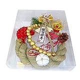 シオン工芸 オーナメント 国産〆縄正月飾り2016 ケ-300