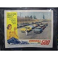 FIREBALL 500 ポスター /ファイヤーボール ポスター