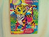 Lisa Frank Jumbo Coloring and Activity Book ~ Fun With Friends ~ Tiger Cover ~ 96 Pg by Modern Publishing [並行輸入品]