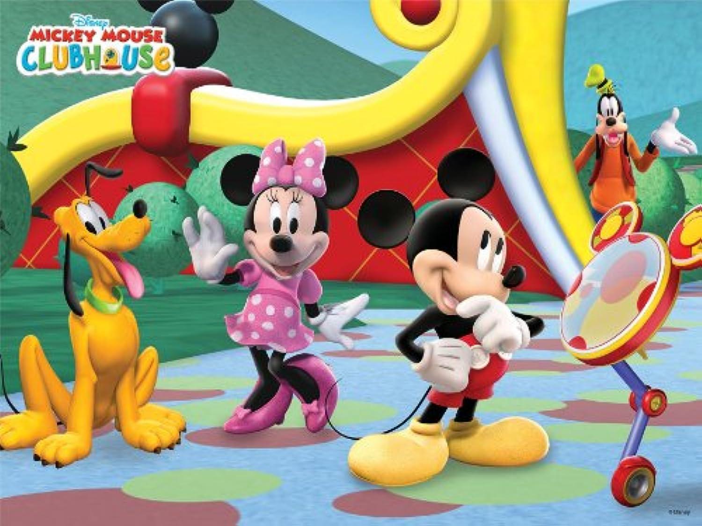 24ピース 3Dマジックジグソーパズル レンチキュラー ミッキーマウスクラブハウス DL-24-651
