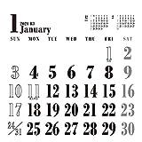 卓上 WHITEスケジュール 2021年 カレンダー 白 卓上 CL-651 (トライエックス)