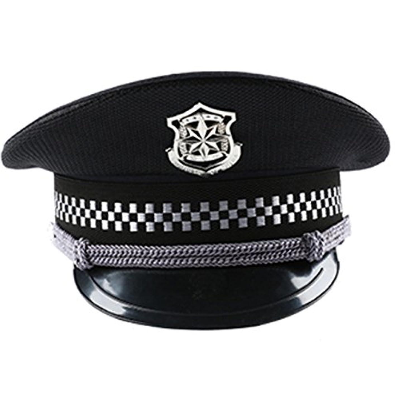 確かにキャプテン変形するfashion 警官帽子 コスプレ ポリスハット フリーサイズ