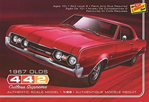 プラッツ HL127 1/25 1967 オールズモービル 442の詳細を見る