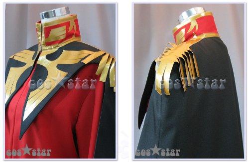 機動戦士ガンダム シャア・アズナブル風 コスプレ衣装 男女XS-XXXL オーダーサイズも対応可能